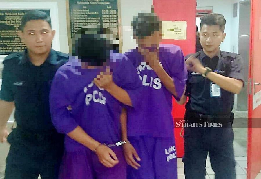 Two brothers have been arrested for raping and impregnating their younger sister. - NSTP/ NORIZUAN SHAMSUDDIN