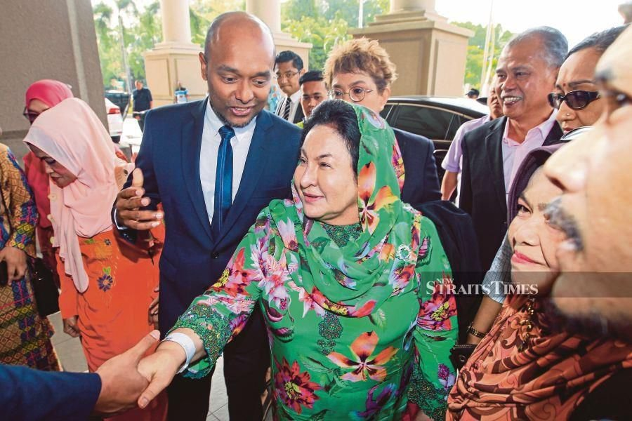 The corruption trial involving Datin Seri Rosmah Mansor got off to a fiery start with her lawyer accusing the prosecution of character assassinating his client even before any evidence had been presented against her. - NSTP/AIZUDDIN SAAD