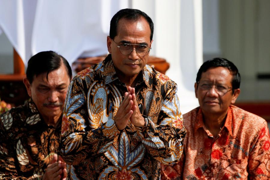 Transport Minister Budi Karya Sumadi's health is improving. REUTERS PIC