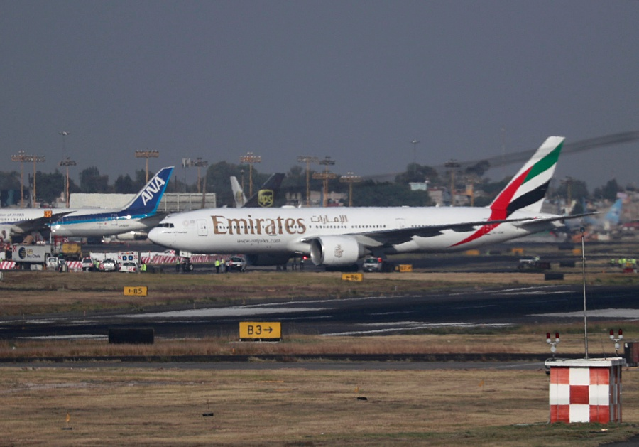 Emirates Airlines announced it will suspend all passenger flights from March 25