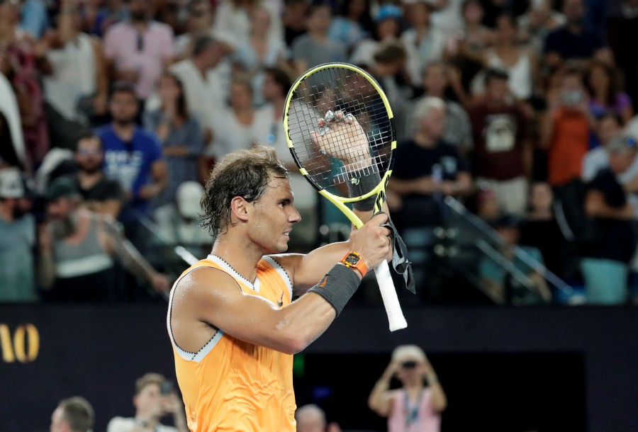 Ruthless Nadal Routs Tsitsipas To Reach Australian Open Final New