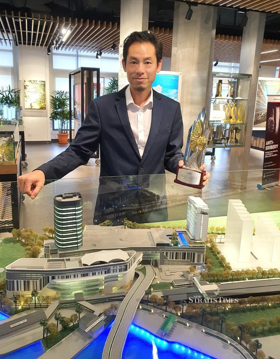 MRCB Land Sdn Bhd chief executive officer Raymond Cheah says Penang Sentral will go full swing next year. Photo by Sharen Kaur
