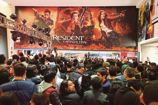 Resident Evil The Final Chapter Premiere In: (MOVIES) Resident Evil: Retribution Signals Fitting End To