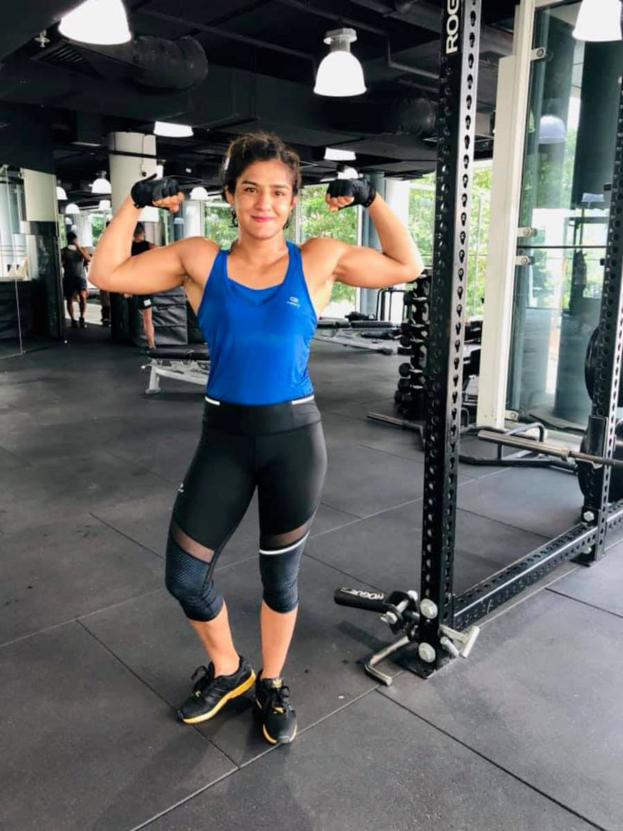 Ritu Phogat will make her MMA debut against South Korea's Kim Nam-hee at One Championship's Age of Dragons event in Beijing on Saturday. - Pic source: Facebook/RituPhogatOfficial