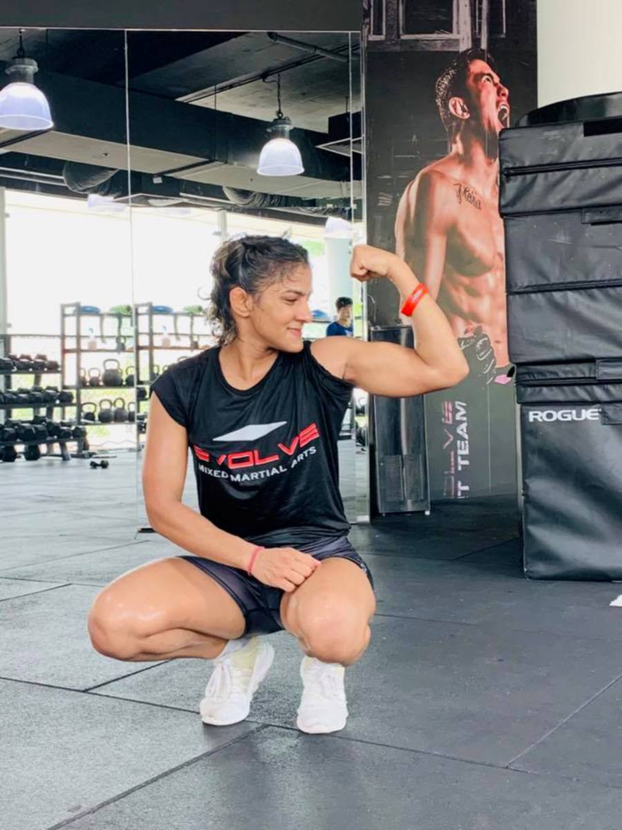 Ritu Phogat says she wants to be the first to win a MMA medal for Inida. - Pic source: Facebook/RituPhogatOfficial