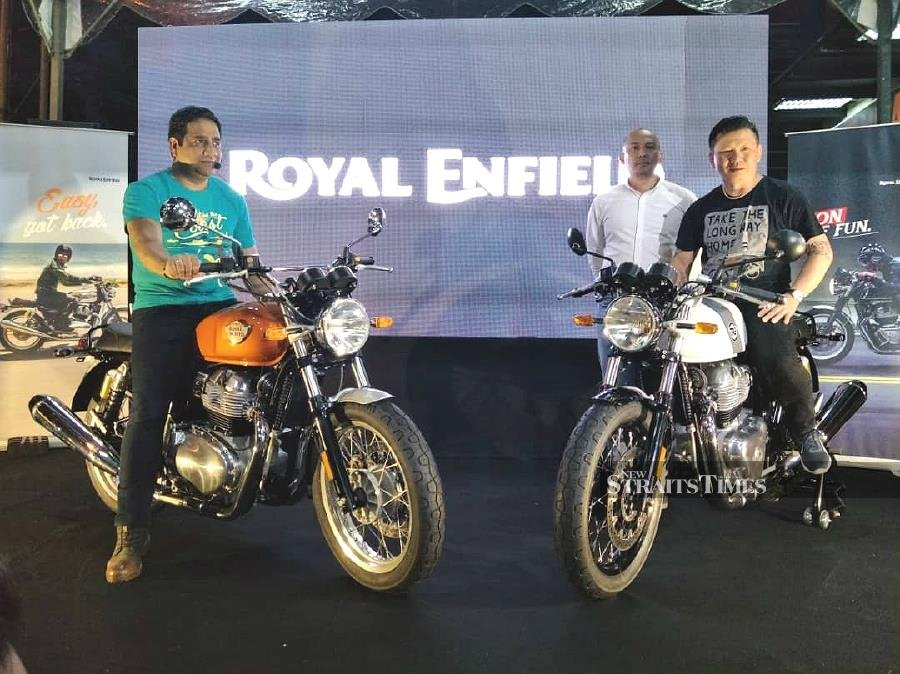 Royal Enfield Continental Gt 650 And Interceptor Int 650 Available