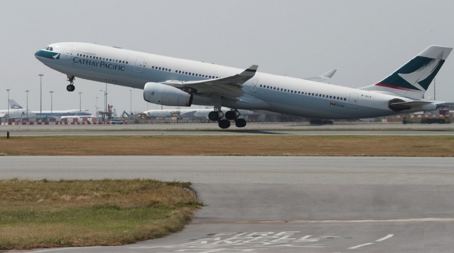 Cathay Pacific crew saw North Korea missile test