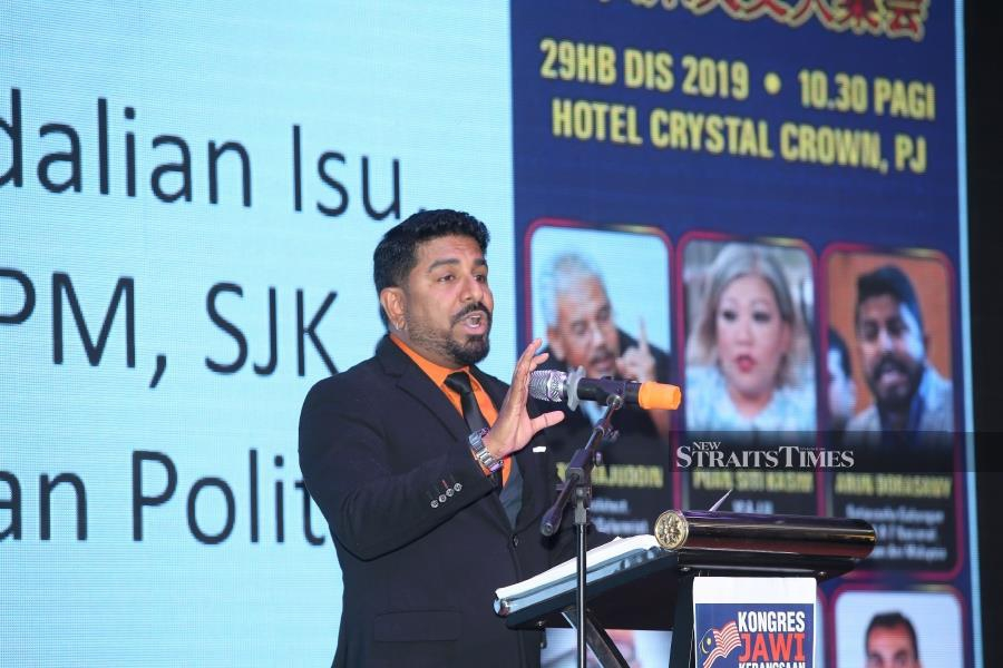 The secretary of Seni Khat Action Team (SEKAT) Arun Doraisamy said the congress would not only initiate legal action but would also see the participation of various other non-governmental organisations (NGO). - NSTP/ZULFADHLI ZULKIFLI