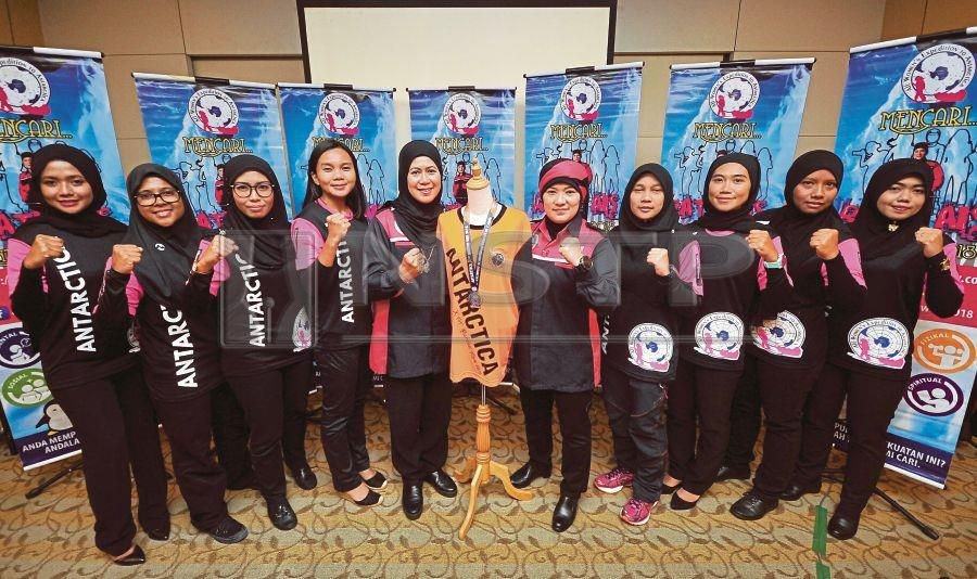 Five 'ice queens' will be selected to join an expedition mission to Antartica where they will plant a new time capsule. (Bernama photo)