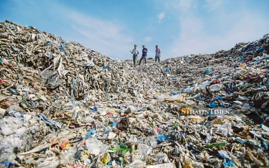 A 2019 study commissioned by the World Wide Fund for Nature (WWF) showed that Malaysia ranks second in Asia for annual per capita plastic use.  - NSTP file pic