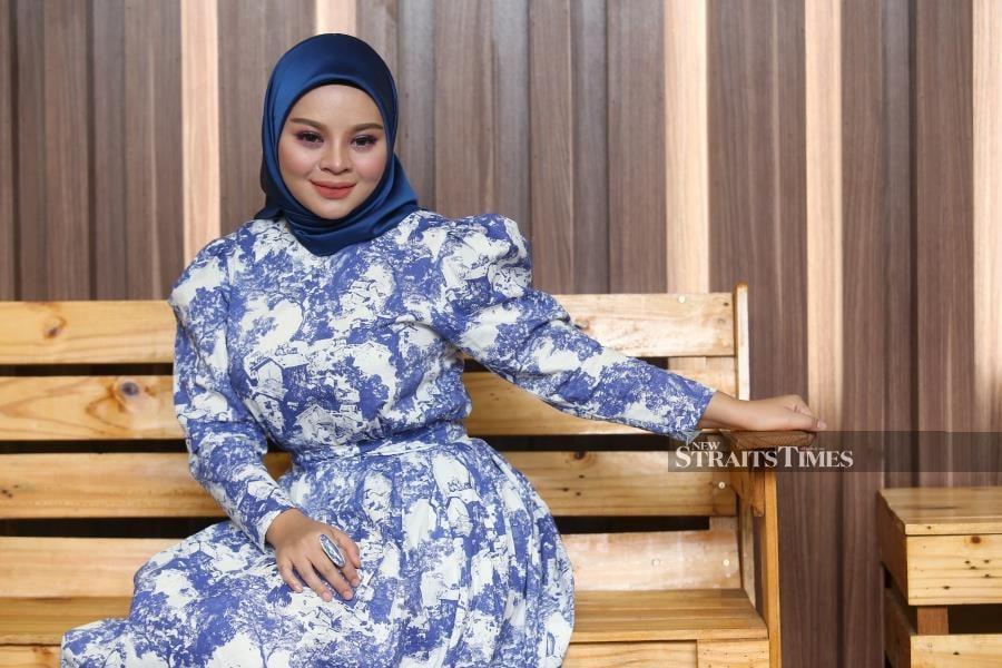 Dap Dap Dap fits really well with the current music trend, says Siti Sarah. NSTP/ROHANIS SHUKRI