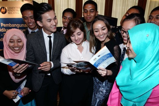 Soaring upwards new straits times malaysia general business students from local institutes of higher learning looking through the content of the malaysia education blueprint 2015 2025 higher education during its malvernweather Image collections