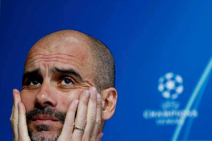 Guardiola, who has been at City for four years, told the players of his intention at a meeting on Saturday. (REUTERS/FILE PIC)