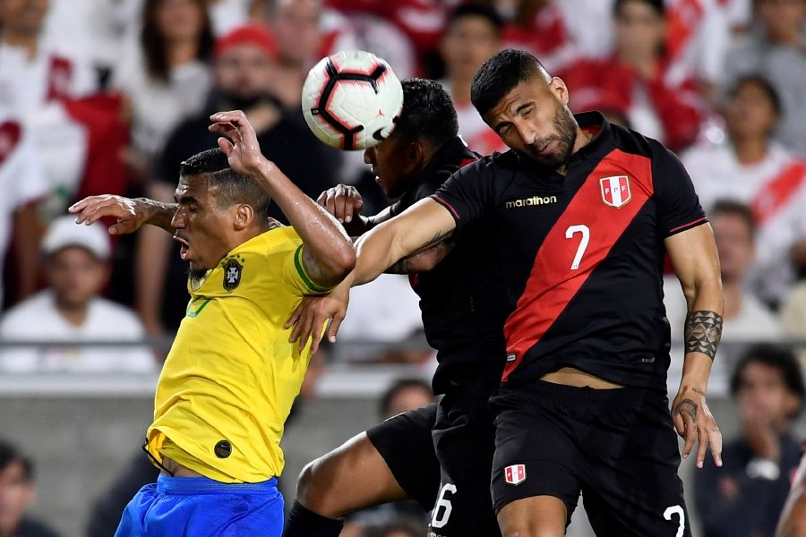 Late goal gives Peru 1-0 win over Brazil in LA | New Straits