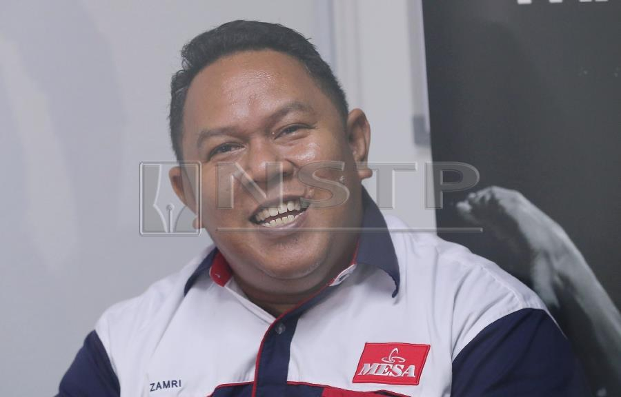 National skateboard coach Mohd Zamri Ramli laughed off claims from some national skateboarders that Malaysia would have won several medals, even gold, at the recent Indonesia Asian Games if several athletes had not been excluded. STR/OWEE AH CHUN.