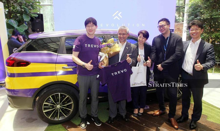Officially launched by SOCAR Malaysia, TREVO offers 300 cars to choose from. -NSTP/SAIFULLIZAN TAMADI.