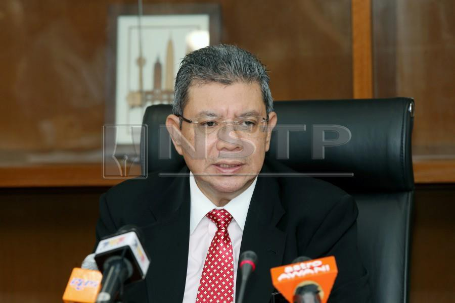 (File pix) The Foreign Minister said the recent development that swirled around Malaysia's proposed ratification of the international convention got to a point that the Cabinet decided not to ratify it last week. NSTP/ Abd Rahim Rahmat