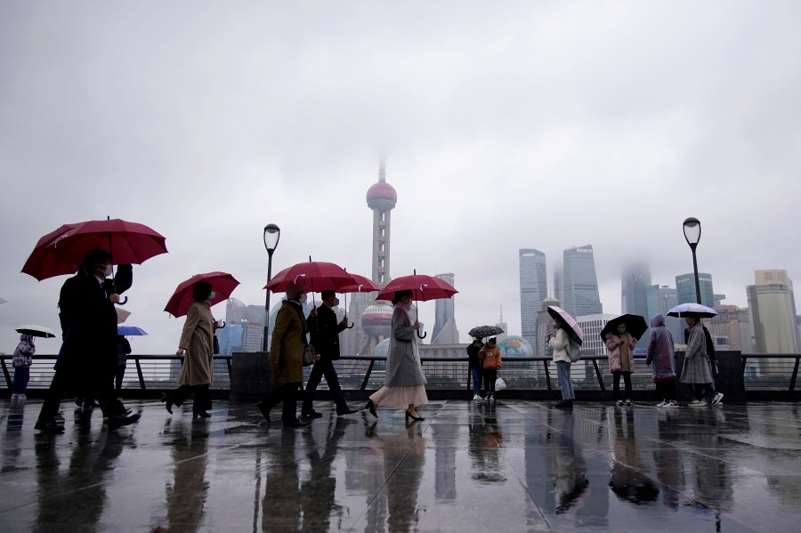 Shanghai reported its first death due to the coronavirus. - Reuters