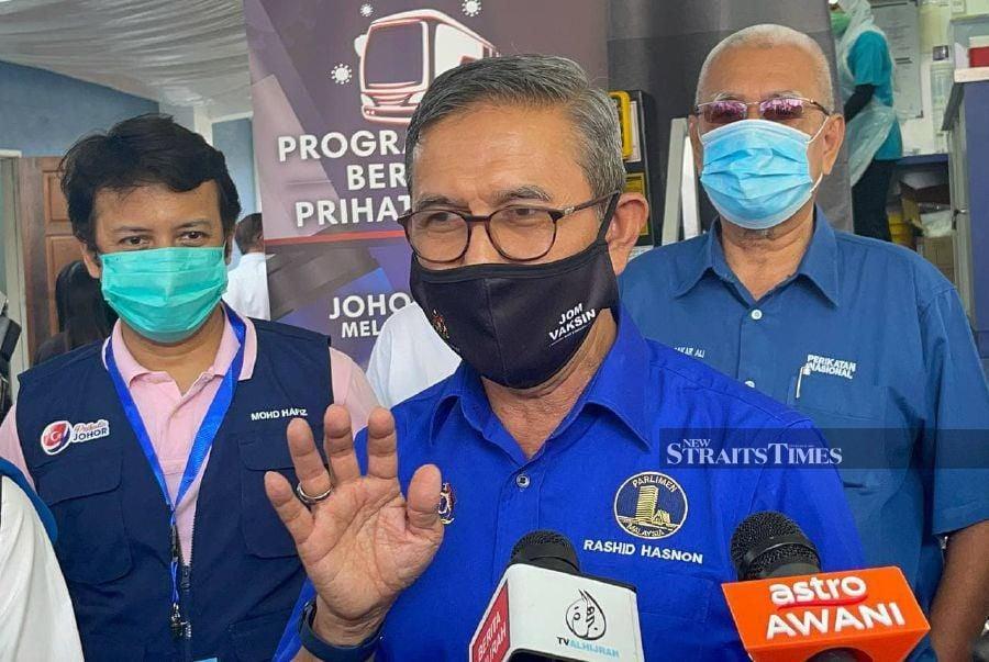 Dewan Rakyat Deputy Speaker Datuk Mohd Rashid Hasnon said the matter will be discussed among the lower house of Parliament's party whips. - NSTP/ NUR AISYAH MAZALAN