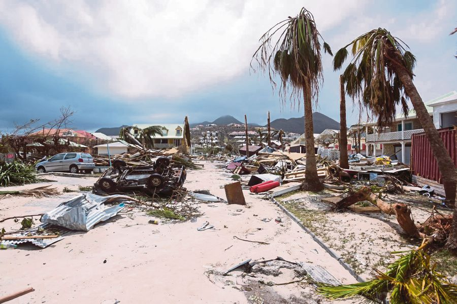 Looting reported on Caribbean island struck by hurricane