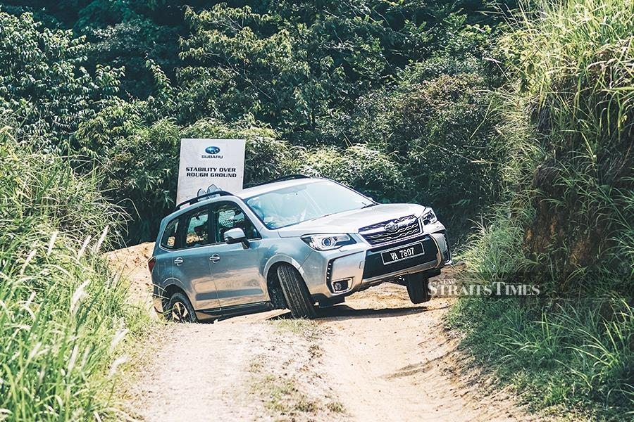 Going off-road with Subaru | New Straits Times | Malaysia