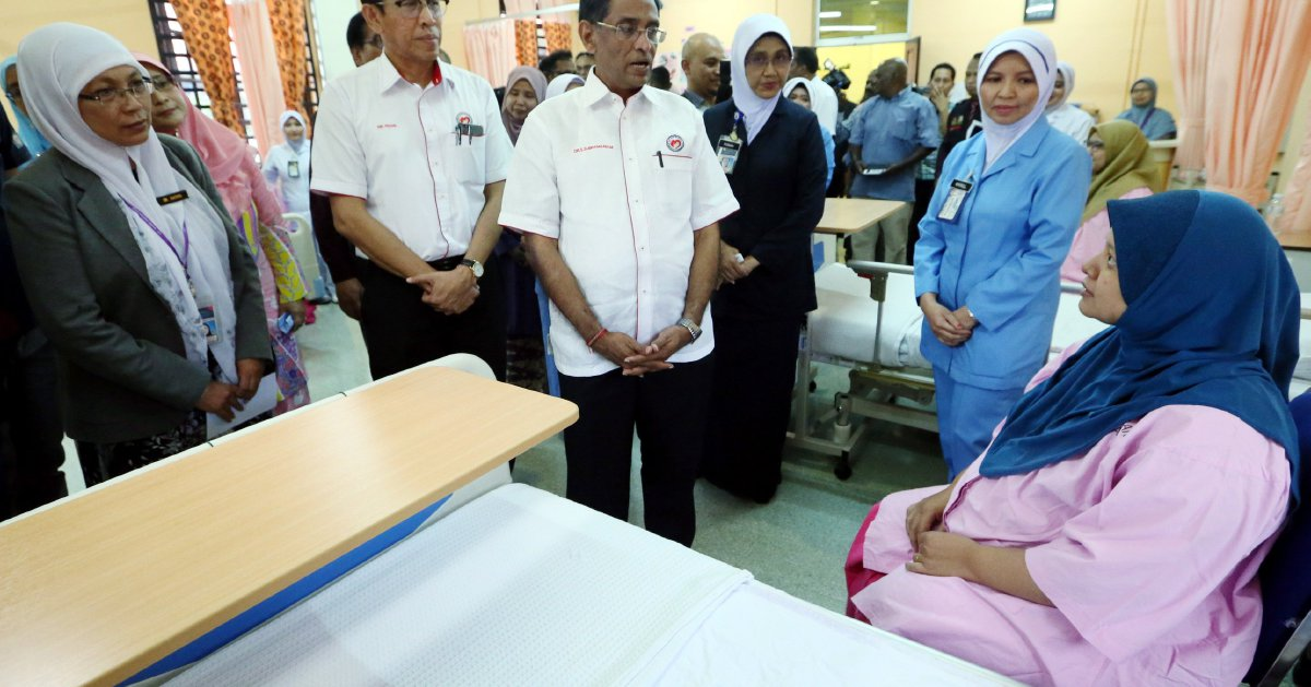 Flood at Penang Hospital subsided - Health Minister