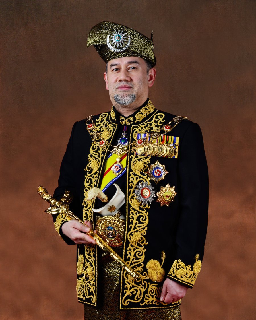 Sultan of Kelantan, Sultan Muhammad V will be officially installed as the 15th Yang di-Pertuan Agong.