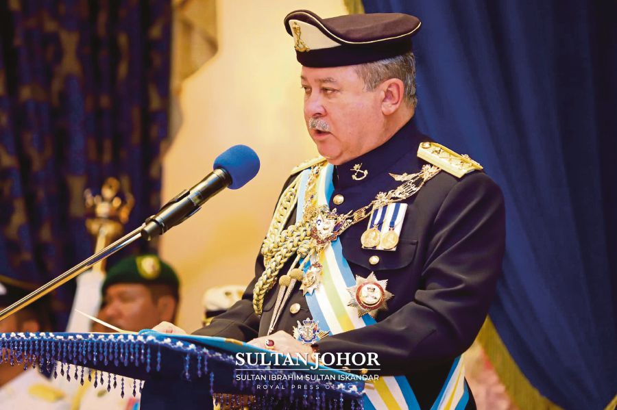Sultan ibrahim iskandar pp 1591174659