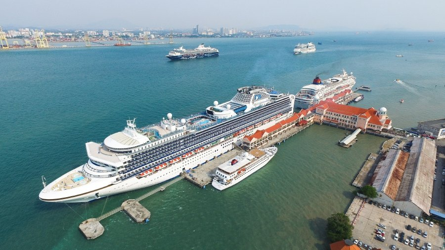 Penang Port Sdn Bhd chief executive officer Sasedharan Vasudevan says the focus and next stage of development for the port operator will be developing the cruise terminal to support its future growth. (Picture courtesy of Penang Port).