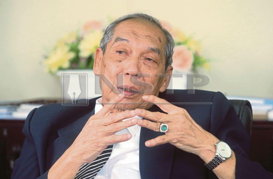 ERC chairman Tan Sri Abdul Rashid Abdul Rahman. Pic by NSTP/MOHD FADLI HAMZAH