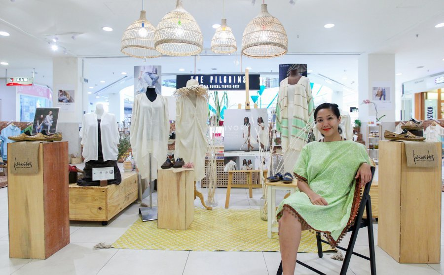 The Pilgrims comprises five local brands with shared values on ethical choices in the retail atmosphere, says Najmia Zulkarnain. (Picture by NSTP/Asyraf Hamzah)