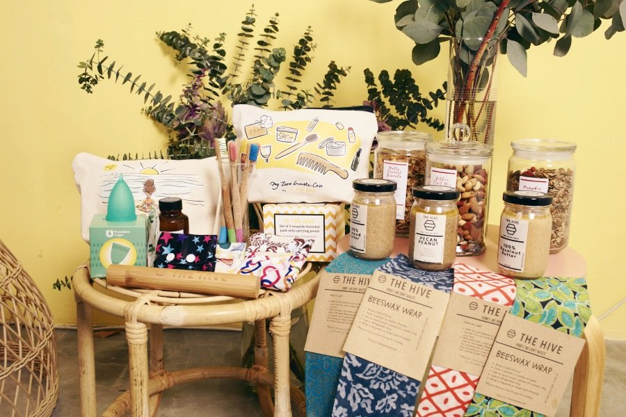 The Hive Bulk Foods offers healthy organic food as well as personal care products made of sustainable and recycled materials. (Picture from The Pilgrims)