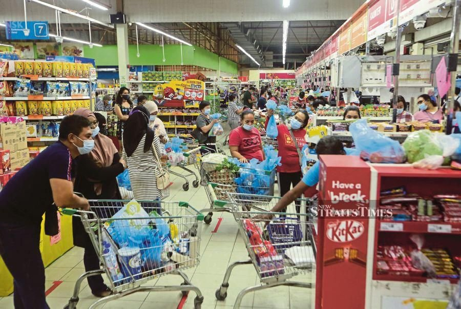 As for food economy, disruptions in the food chain are minimal as food supply has been adequate and markets stable. We were able to keep food supply chains alive and mitigate the pandemic's impacts across the food supply chain system.  - NSTP file pic
