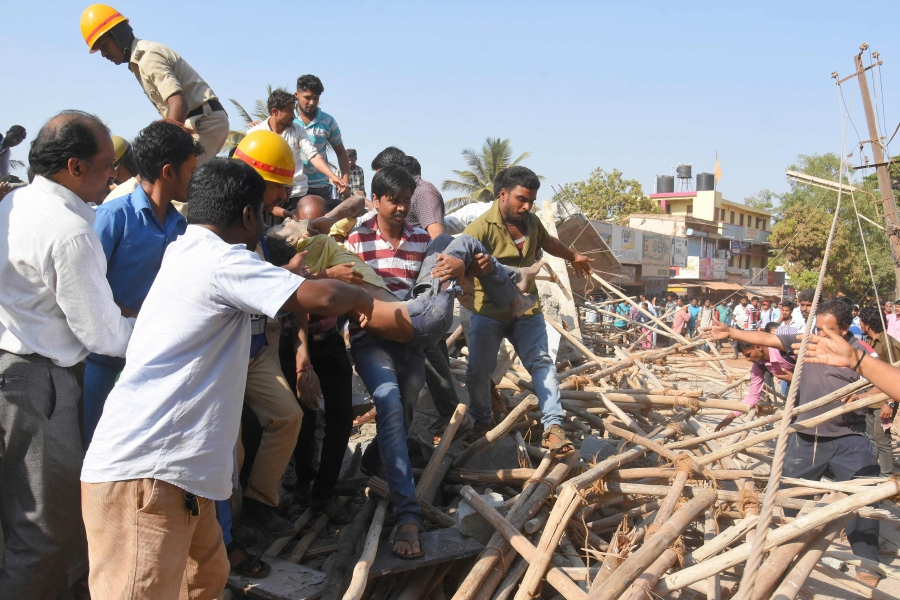Image result for Indian man rescued after 62 hours under collapsed building