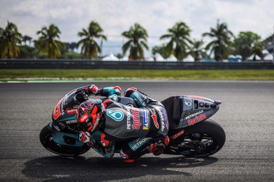 Quartararo Fastest In Practice Before Malaysian Motogp