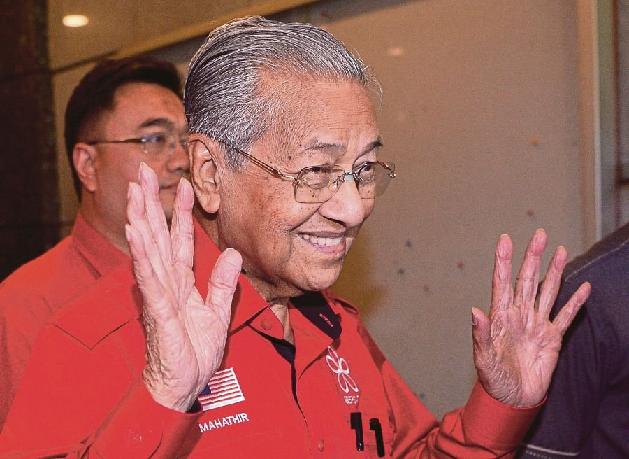 A political realignment involving the formation of a new government is expected to take place soon following the support of more than adequate Parliamentary seats garnered by Tun Dr Mahathir Mohamad. - BERNAMA pic
