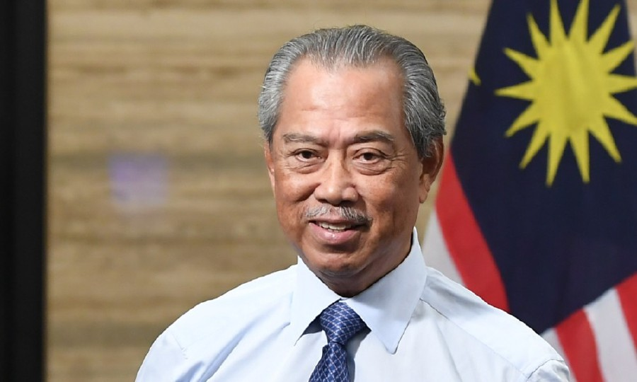 Prime Minister Tan Sri Muhyiddin Yassin said the people have their own creative ways in dealing with challenges and tests. -BERNAMA pic