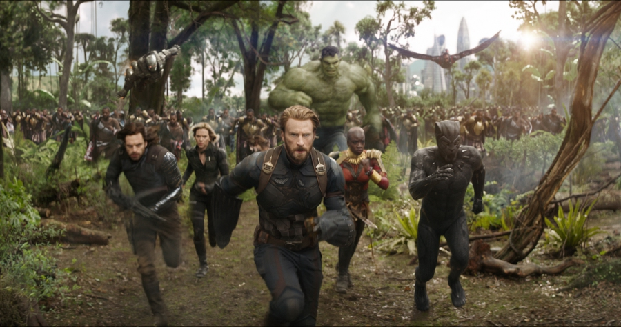 Showbiz: Avengers' ultimate showdown in Infinity War (review) | New