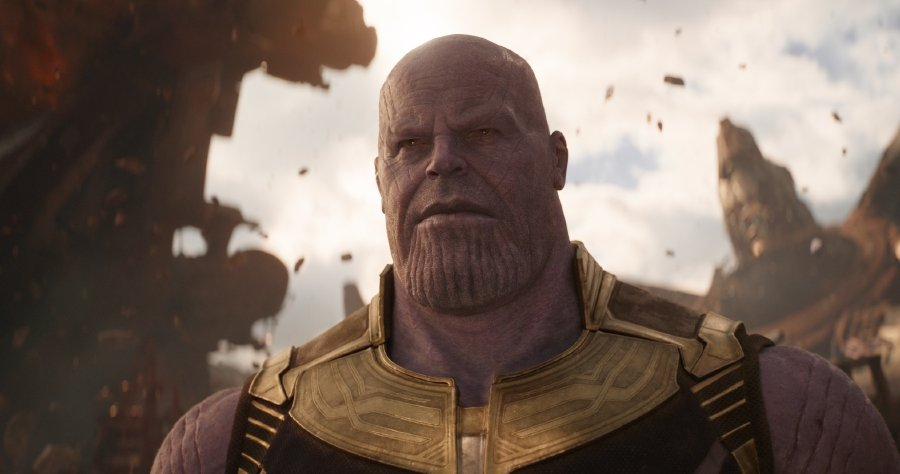 44a4d52ba7cf Thanos (Josh Brolin) is a villain to be reckoned with. Pix credit  Marvel  Studios. Infinity Wars ...