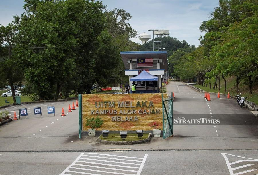 The Higher Education Ministry had no other option but to postpone the physical registration of new and returning students at their respective campuses to prevent mass movement amidst the rise in positive Covid-19 cases in the country. - NSTP file pic