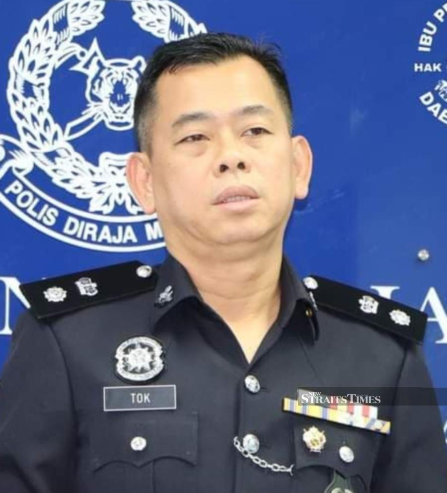 Kulai police chief Superintendent Tok Beng Yeow. NSTP/courtesy of PDRM