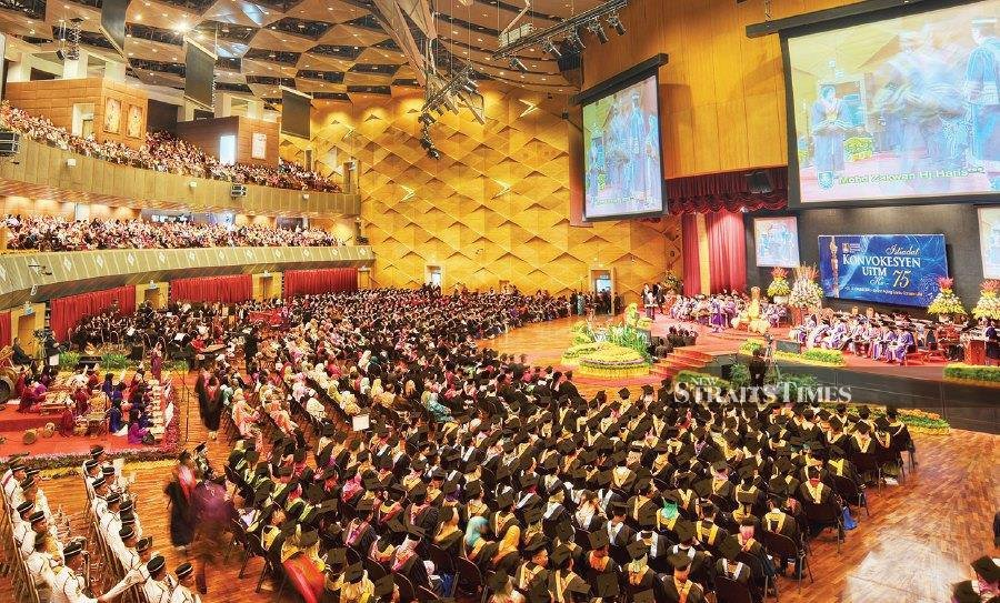 Each year, UiTM produces 45,000 graduates in various fields.