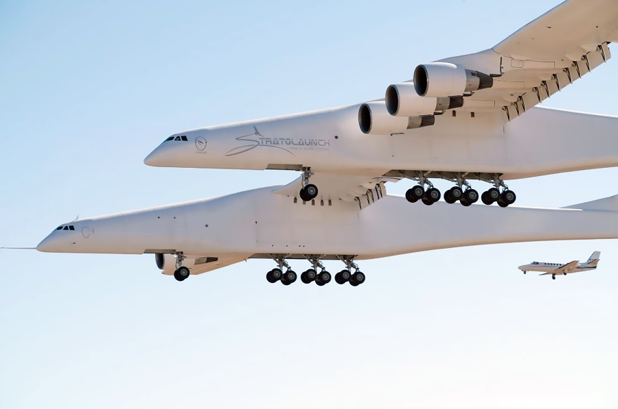 World's largest plane makes first test flight | New Straits
