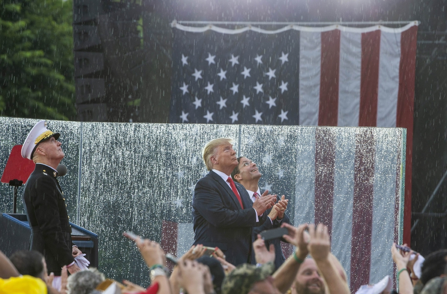 Trump celebrates US might in Independence Day speech | New Straits