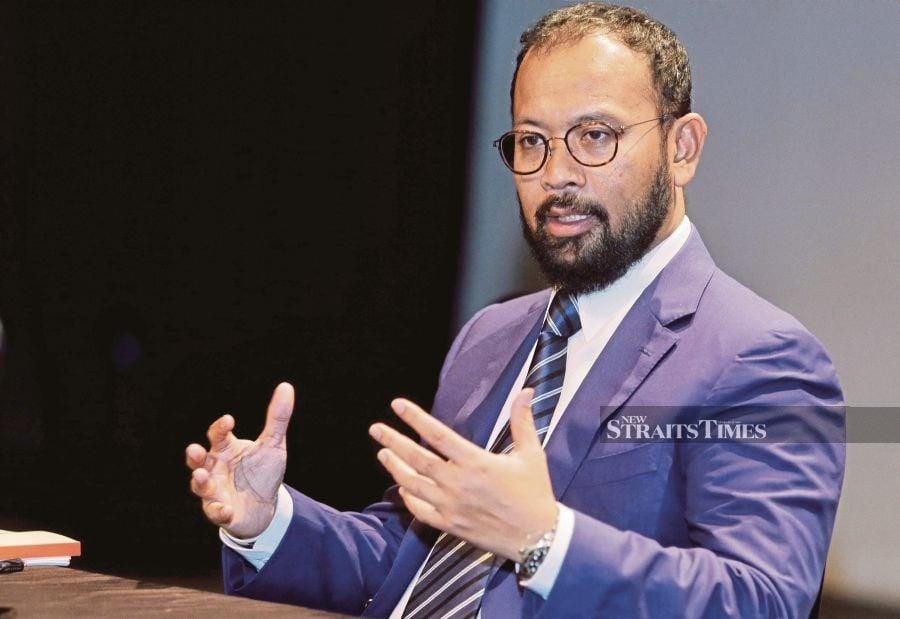 Uzma Bhd chief executive officer Datuk Kamarul Redzuan Muhamed said the company will be expanding its business within Asean. NSTP photo by NURUL SYAZANA ROSE RAZMAN