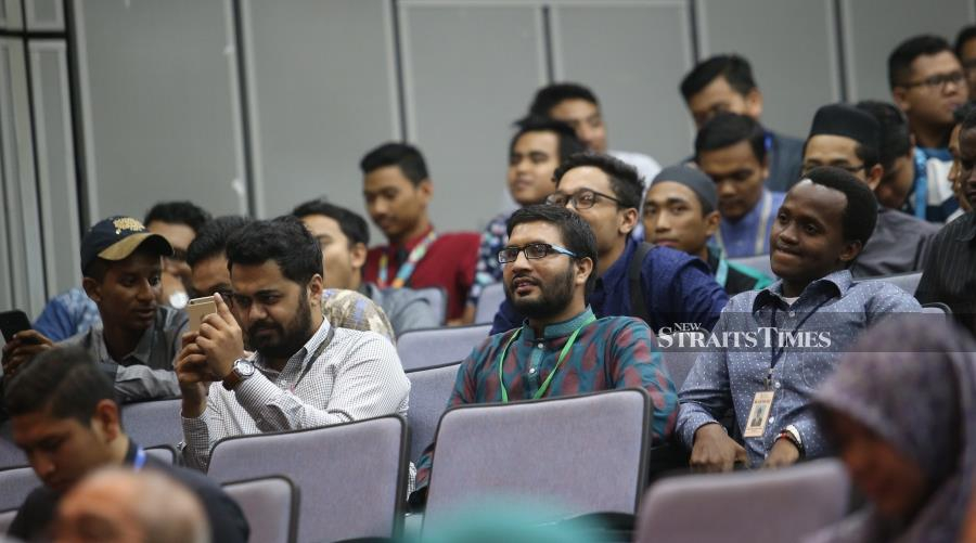 Whereas through teaching and learning, universities can help boost students with education and skill, and develop their leadership and capacity building to meet global challenges. - NSTP File pic /NURUL SHAFINA JEMENON