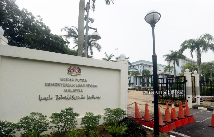 File Photo: Wisma Putra will seek an additional RM19 million allocation for countries that would not allow commercial flights to enter for repatriation missions. - NSTP/MOHD FADLI HAMZAH