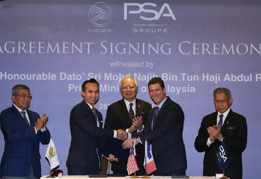 Naza, PSA to set up joint production hub