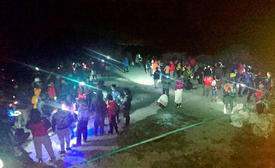 Aftershock hits Ranau, climbers on Mount Kinabalu to descend in the dark
