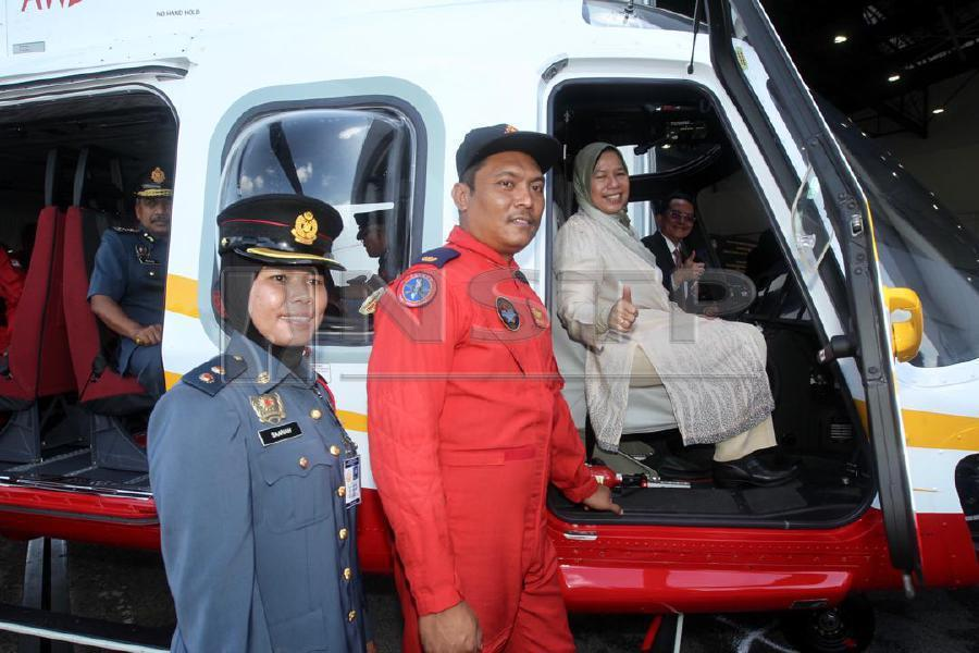 Two New Helicopters For Fire And Rescue Department